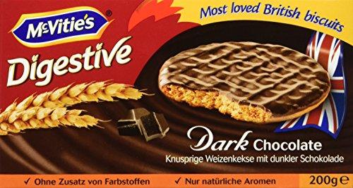 McVitie's Digestive Dark Chocolate 200 g (1 x 200 g)