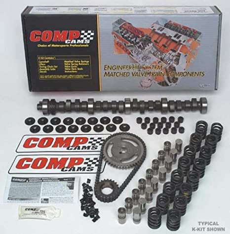 COMP Cams SK12-232-3 Xtreme Marine 212//218 Hydraulic Flat Cam SK-Kit for Chevrolet Small Block