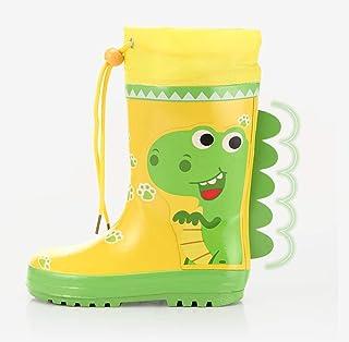 Rubber Boots For Men-Rubber Boots Children's Rain Boots Car Rabbit Dinosaur Boys Students Non-slip Beam Mouth Four Seasons Rain Boots Rubber Shoes Rain Boots  Rain boots