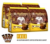4 Pack Old Town White Coffee 2 in 1 Coffee and Creamer