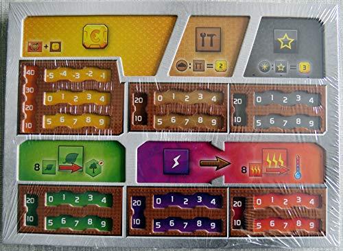 Terraforming Mars: Dual Layer Player Boards