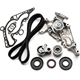 Timing Belt Kit with Water Pump, ECCPP TBK298WPT for 1998-2007 Fit for LEXUS Fit for TOYOTA Tundra 4Runner Sequoia 4.7L 2UZFE
