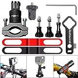 Support Gopro VTT , Support Caméra Vélo en Aluminium, Fixation Caméra Action...