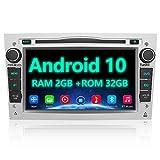 AWESAFE Android 10 Autoradio für Opel 2DIN Radio mit Navi, unterstützt DAB+ WiFi CD DVD Bluetooth...