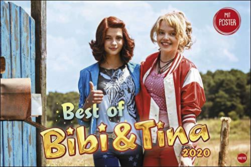 Bibi & Tina - Best of - Broschurkalender XL - Kalender 2020 - Wandkalender - 45cm x 30 cm (offen 45 cm x 30 cm)