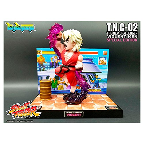 Diorama Street fighter violent Ken - special edition - TNC 02 - limited - official by big boys toys
