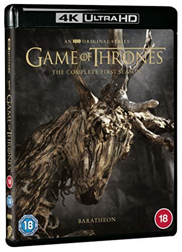 Game of Thrones: Season 1 [4K Ultra HD] [2011] [Blu-ray] [Region Free]