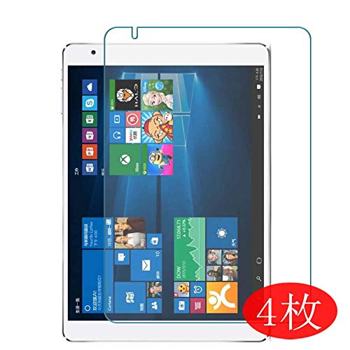 【4 Pack】 Synvy Screen Protector for Teclast X98 Plus 9.7' TPU Flexible HD Clear Case-Friendly Film Protective Protectors [Not Tempered Glass] New Version