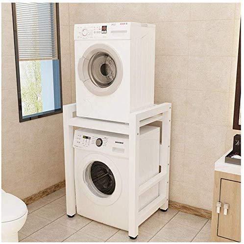 YKJL Estante para Lavadora Estante de Almacenamiento en Rack de Cocina Lavadora de Doble Capa Lavavajillas Baño 2 estantes Apilamiento- A