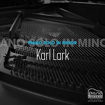 Piano Solo in Minor