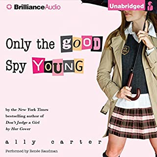 Only the Good Spy Young audiobook cover art
