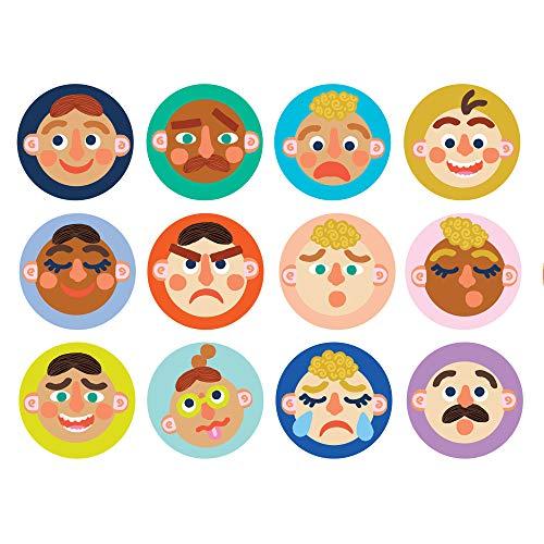 Manhattan Toy Making Faces Gedächtnis- und Gesichtserkennungs-Matching-Spiel für Jungen und Mädchen ab 3 Jahren