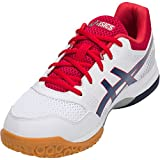 ASICS Men's Gel-Rocket 8 White/Deep Ocean 9 D US