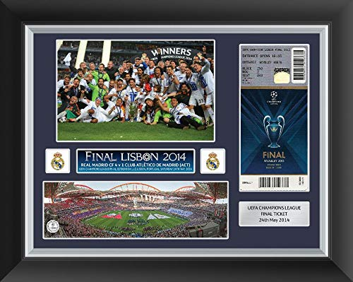 Champions League Final 2014 - Marco de Fotos para Billetes, diseño del Real Madrid vs. Atlético de Madrid