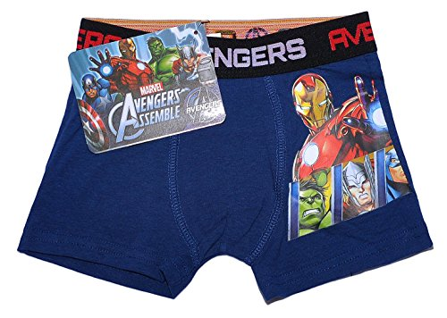 Officiel Marvel Avengers Assemble Boxers pour garçons - -