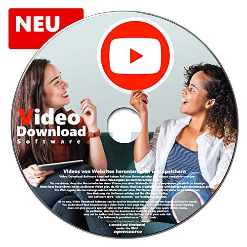 Video Download Software Videos von Websites herunterladen und Speichern oder Musik abspeichern YouTube, MyVideo, DailyMotion, Vimeo und MySpass NEUWARE
