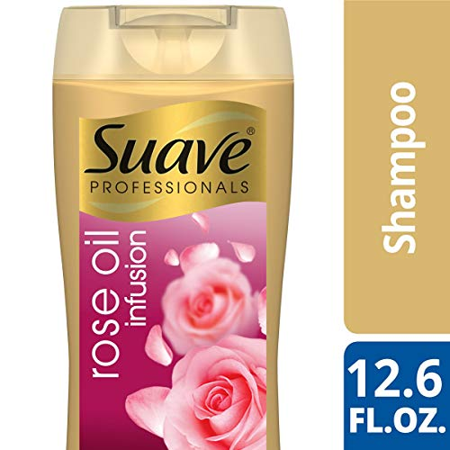 SUAVE HAIR Professionals Rose Oil Infusion Shampoo, 12.6 Ounce