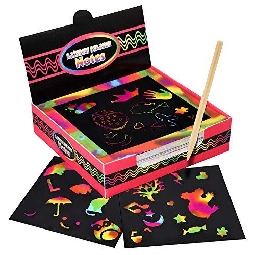 Dreamingbox Regalo Bambina 3-10 Anni, Album da Colorare per Bambini Giocattoli Bambino 3-9 Anni Regali per Ragazzi 9-12 Anni Giocattoli Ragazza 9 10 11 12 Anni Giochi Creativi Bambina 3-10 Anni