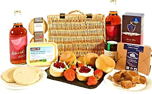 Cream Tea Hamper - Luxury Devon Produce