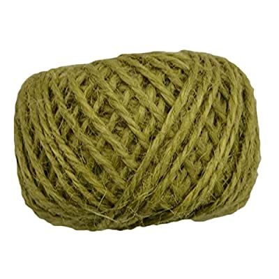 HLWJ 30M Linen Thick Rope Gift Wrapping Rope for Events and Party Supplies (Color : Army Green) from HLWJ