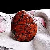 NLLeZ 1pc Natural Rock Rose Rose Dasidian Piedra Piedra Se Puede Usar for Reducir el estrés DIY...