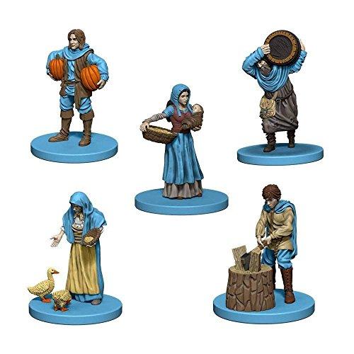 Mayfair Games Europe MFG72866 Agricola Game Expansie: Blue (5 figuren), meerkleurig