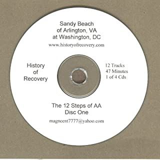 Sandy Beach The 12 Steps of Alcoholics Anonymous at Washington DC 4 Cds
