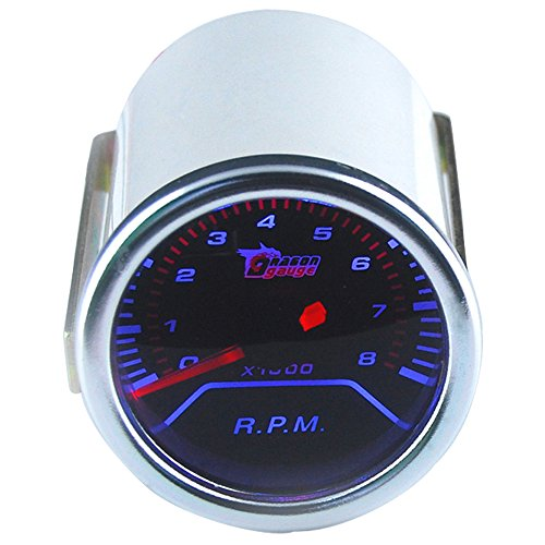 "ESUPPORT Car 2"" 52mm Tacho Gauge Meter Kit RPM Automotive"