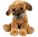 Suki Gifts Medium Sitting Border Terrier Soft Toy 22cm/9'