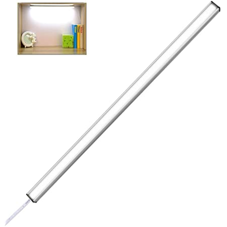 Miyasora LED バーライト キッチンライト 棚下ライト 高輝度 直管形LEDランプ マゲネット 30cm
