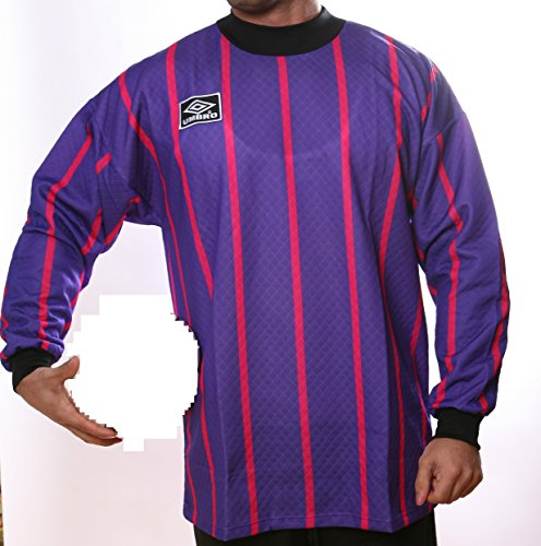Umbro Maillot de Football Gardien de But Sweat d&apos Vintage modèle art993lilapink Taille XXL