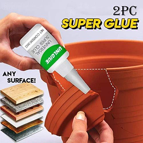 Sterke lijm, waterbestendig, voor normaal gebruik, sterke kunststoflijm, voor glas, metaal, kunsthars, keramiek, sterke lijm voor reparaties thuis, sneldrogend, zonder naaien. 100ml Wit-b