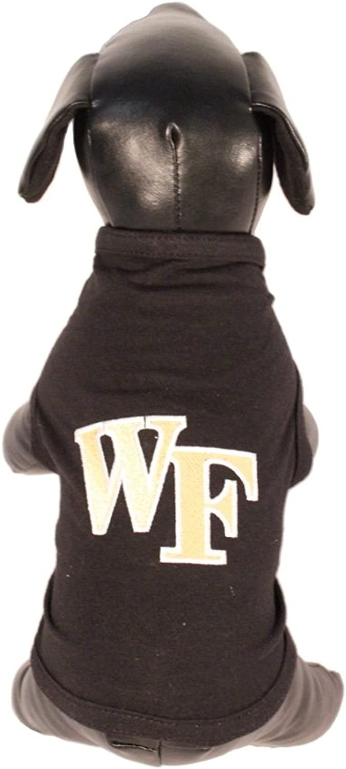 NCAA Wake Forest Demon Deacons Cotton Lycra Dog Tank Top