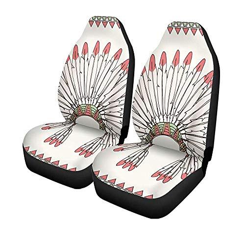 Beth-D Stoelhoezen voor auto, haarband, Amerikaanse stijl, voor kapsels, Amerika, Apache universeel, voor autostoelen en voorstoelen