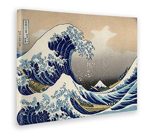 Giallobus - Cuadro - Impresion EN Lienzo - Hokusai