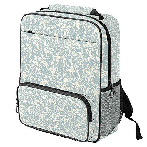 Mochila escolar casual Love My Fashion estilo estampado portátil mochila multifuncional, Patrón #8 (Multicolor) - backpacks013