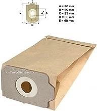 Sconosciuto L101MF 5 sacchetti filtro MICROFIBRA x Elettrodelta Magnum 301 Electronic