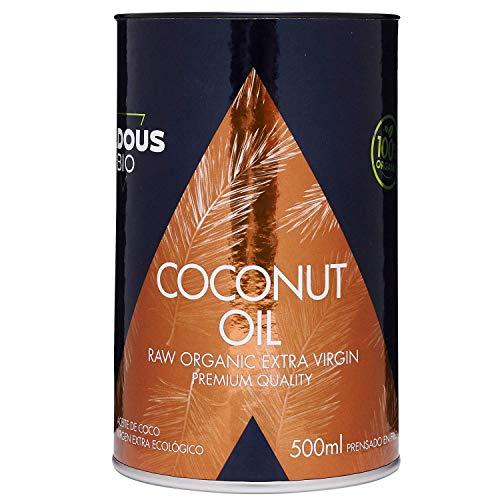 Aceite de Coco Virgen Extra Ecológico Prensado en Frío (50