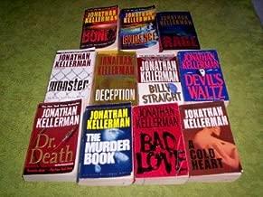 Jonathan Kellerman - (Set of 11) - Not a Box Set (Bones - Evidence - Rage - Monster - Deception - Billy Staight - Devil Waltz - Dr Death - The Murder Book - Bad Love - A Cold Heart)