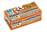 folia 2311 - Memory - Karten, Blanko-Legekarten, ca. 6 x 6 cm, 60 Stück, zum selbst Bemalen und Bekleben -