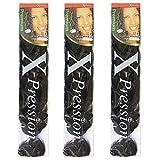 X-pression Premium Original Ultra Braid. - Color 33 (Pack of 3)