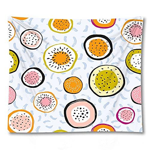 PPOU Cartone animato Stampato arazzo appeso a parete sfondo arazzo sfondo familiare panno arazzo coperta panno appeso A2 130x150 cm