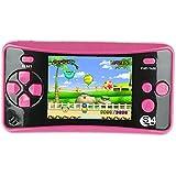 QINGSHE QS-4 Consoles de Jeux Portables, Console de Jeux Retro FC Game Console 2.5 Pouces TFT Écran...