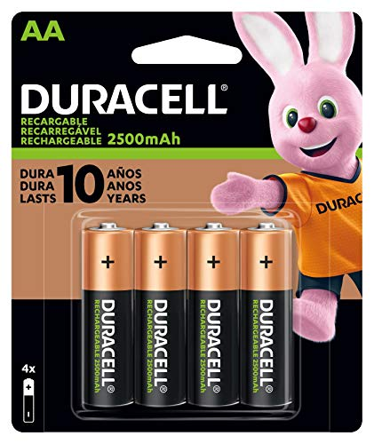 Duracell - Rechargeable AA Batteries - long...