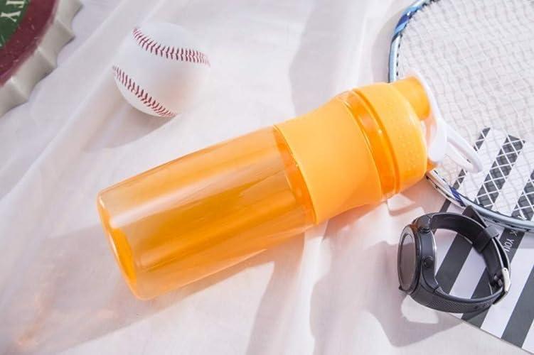 TDACFE Prougeéine en Plastique Tasse Tasse de Sport en Plein air Fitness Bouteille d'eau étanche Multi-Couleur Portable