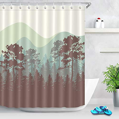 cortinas baño gris