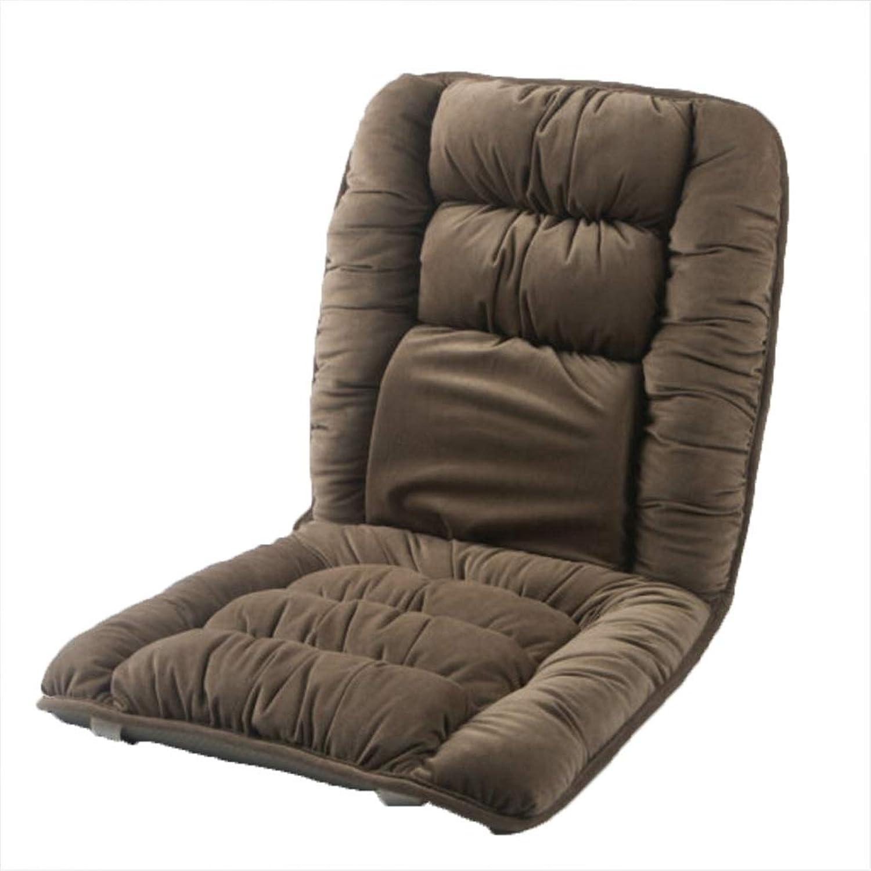 JianMeiHome Kissen Stuhlkissen Sitzkissen Computer Stuhl Sitzkissen Esstisch Stuhl Matte atmungs Verdicken Slip Warme Matte brown