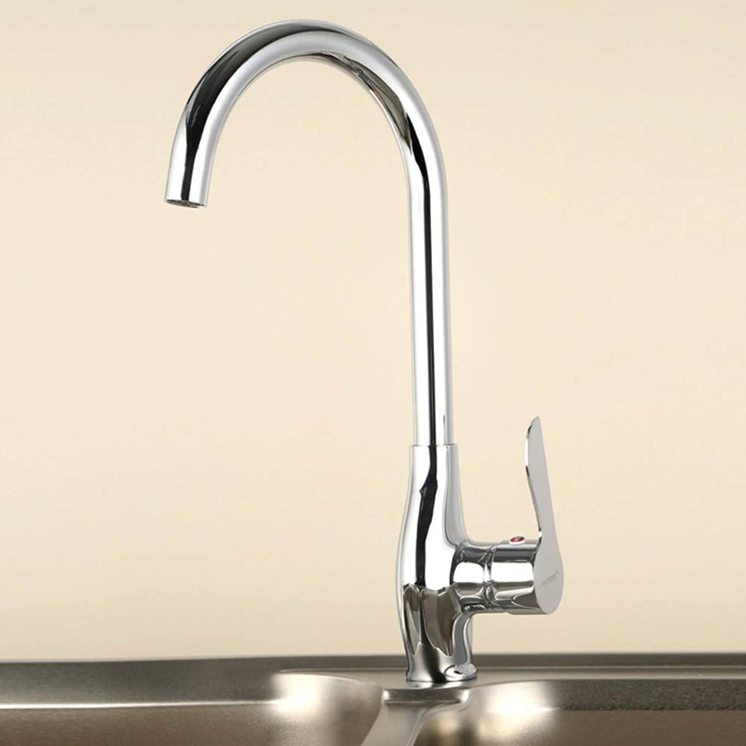 Kitchen Sink Faucet 360 Degree redating Kitchen Faucet Copper Single Handle greenical Basin Hot and Cold Water Faucet