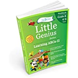 Learning ABCs II: Kindergarten Workbook (Little Genius Series): Teaches Uppercase and Lowercase Letters