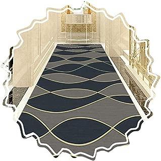 AOLI Pasillo corredor de la alfombra, Alfombras Easy Clean lavable no Slip-Piso de Protección para la cocina y el Passage, de tamaño personalizado (color: D, Tamaño: 1M x 3 m (3,28 pies x 9,84 pies))